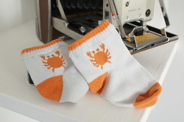 Crab socks