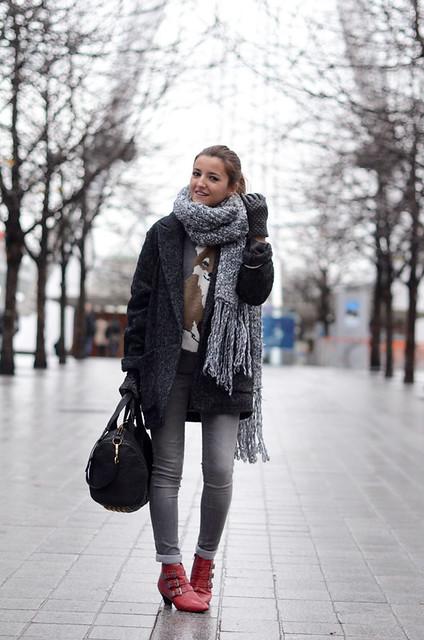 lovely pepa abrigo de espiga