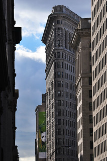 Image of Flatiron Building near City of Hoboken. nyc ny newyork nikon