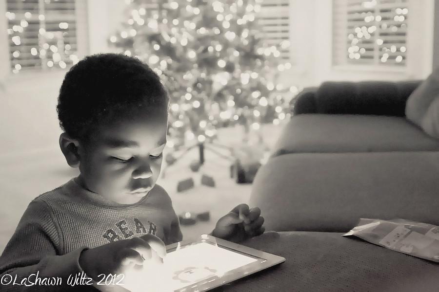 christmas black and white, wordful wednesday