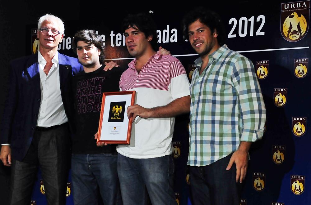Premiación Torneo URBA 2012