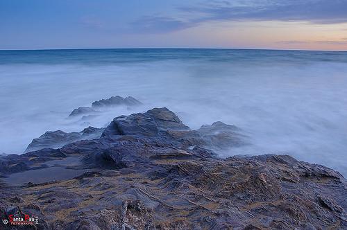 Rocas y Mar (Atardecer Calblanque)