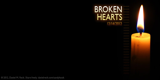 Broken Hearts - Twitter Cover Tribute