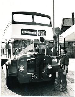 Hunstanton 1980's open top service