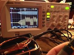 AVR RFID waveforms