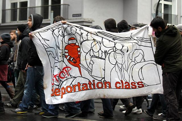 Solidarität mit den Flüchtlingsprotesten – kein mensch ist illegal!