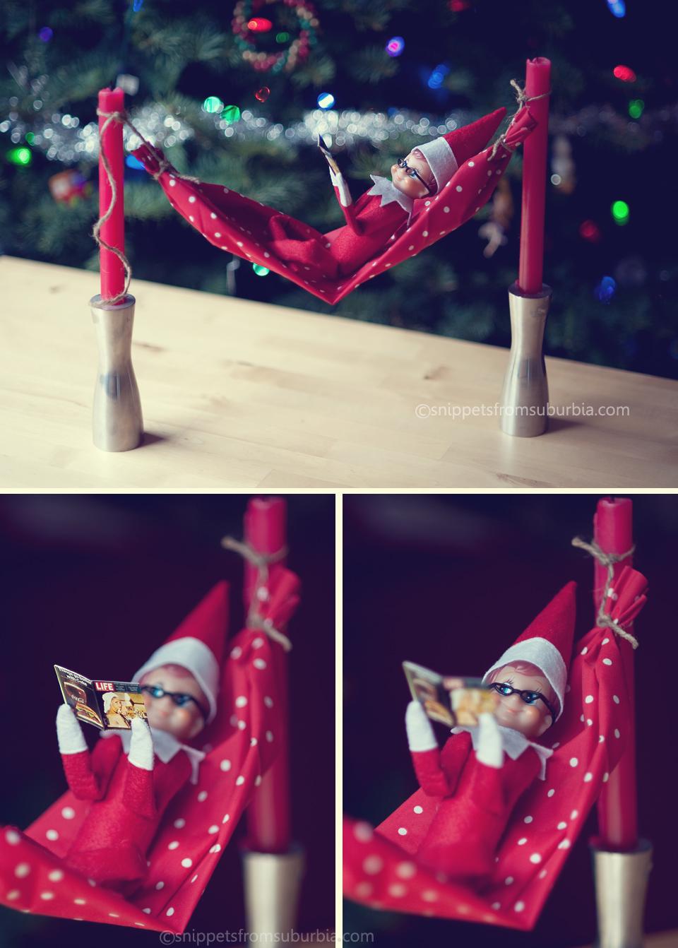 Elf on the Shelf, December 16th