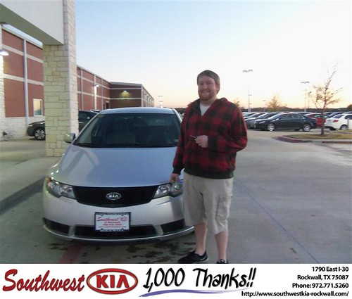 Congratulations to KAREN WHORTON on the 2010 #KIA #Forte by Southwest Kia Rockwall