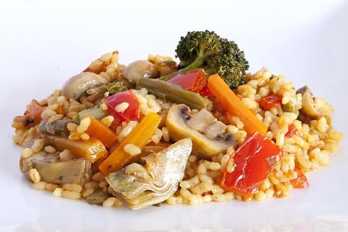 Arròs sec de verdures 1