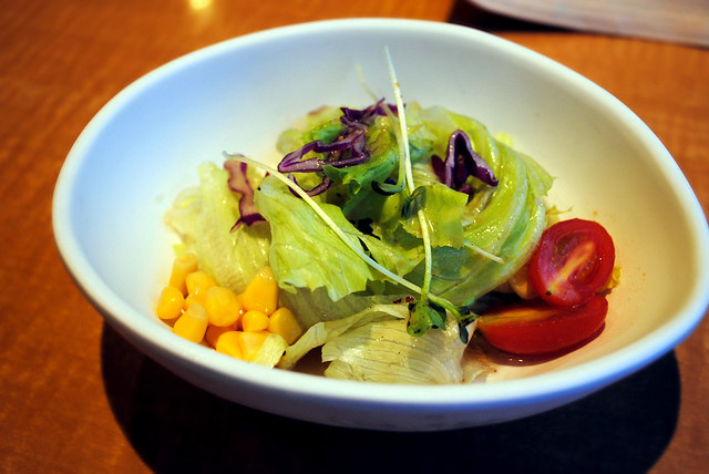 Salad with Japanese Dressing