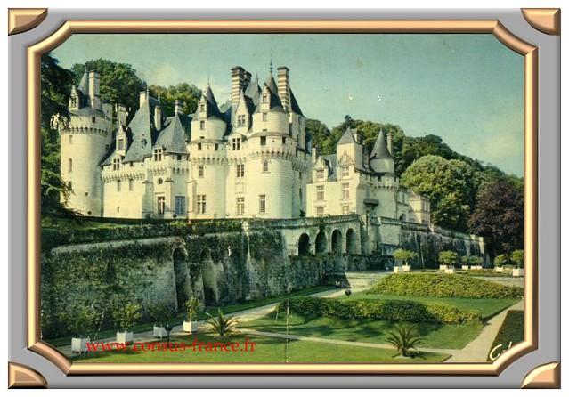 20 - RIGNY-USSE (Indre et Loire) Château d'Ussé -70-150