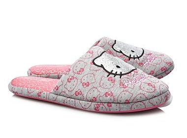 Hello Kitty Mule Slippers for Girls