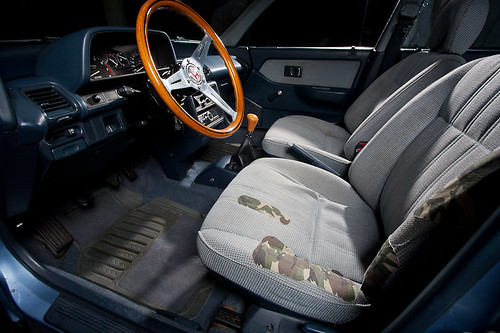 1989 Civic Wagon Interior