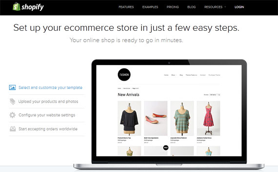 Budget Website - Shopify
