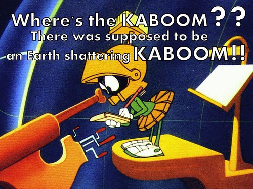 there was supposed to be a kaboom