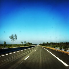 Grand ciel bleu