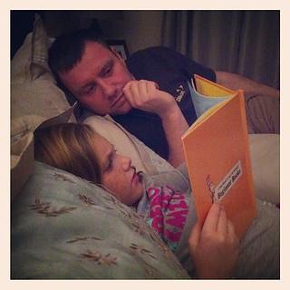 Bedtime story.
