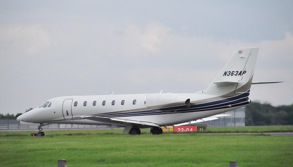 N363AP - C680 - American Air Charter