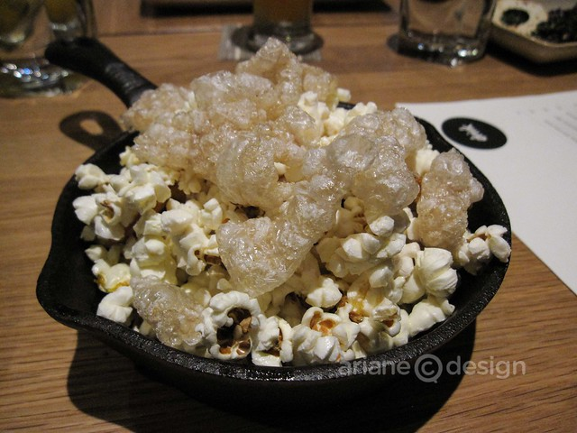 Forage/Cracklings and popcorn