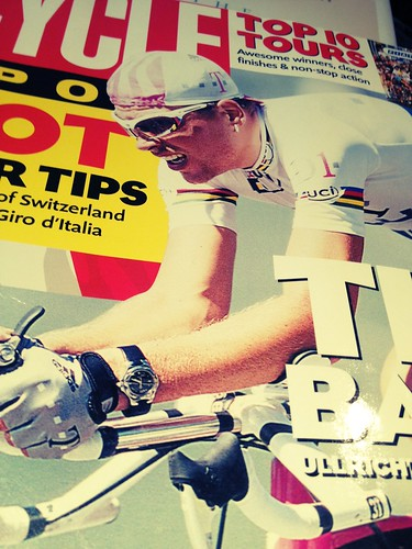 Ullrich and the amazing wristwatch choice