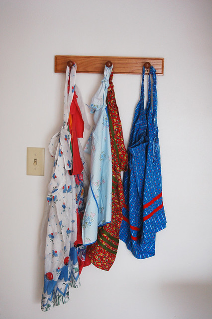 Vintage apron collection
