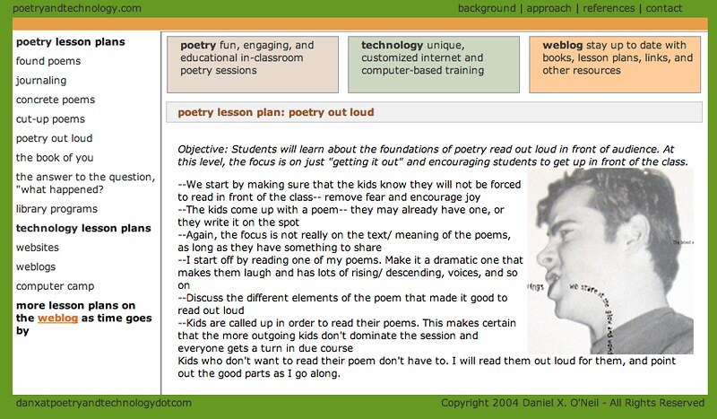 Poetry Lesson Plan: Poetry Out Loud