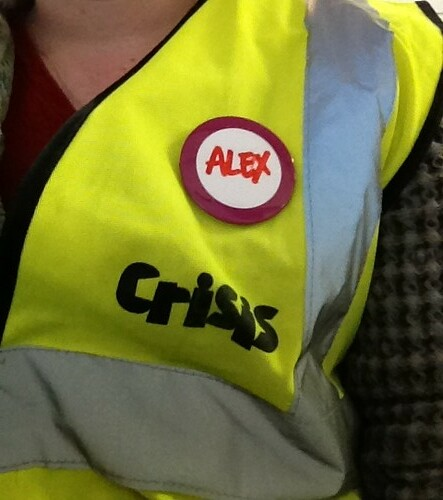 Volunteering at Crisis at Christmas