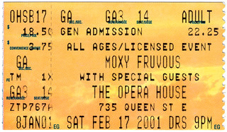 Moxy Fruvous (February 17 2001)