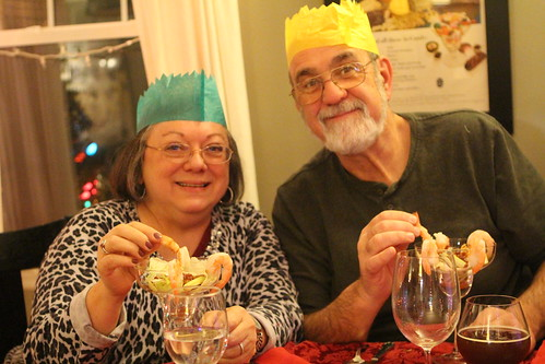Mom and Dad with Crowns
