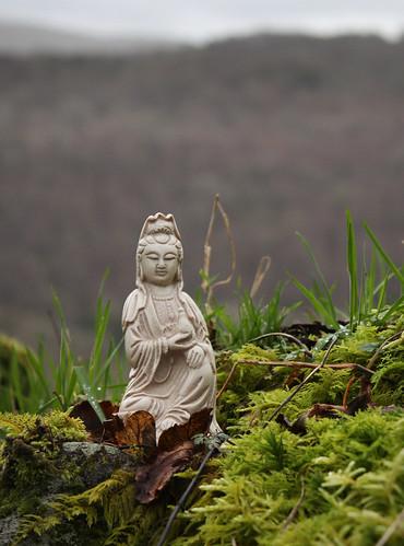 Guanyin by Helen in Wales