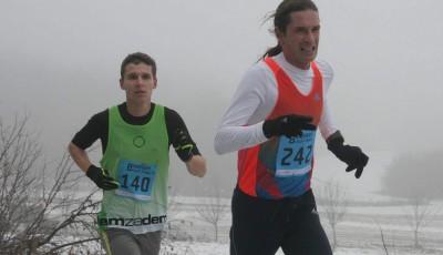 Štěpánský běh v Syrovicích: Vítězí Jan Kohut a Lucie Matulová