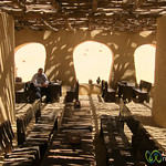 Tea House in the Desert - Fayoum, Egypt