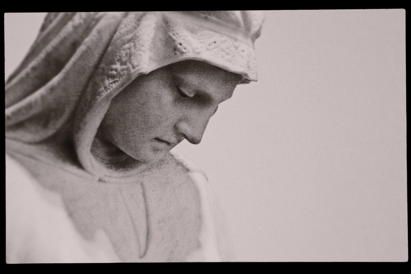 "Portrait of the Chauncey Bradley Ives' sculpture ""Jephthah's Daughter"""