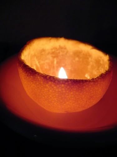 satsuma candle
