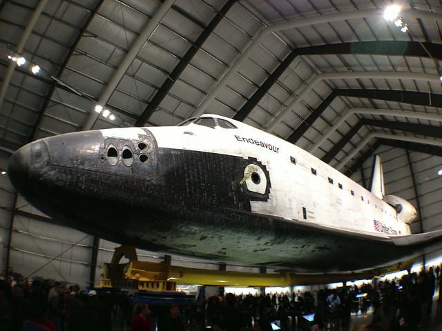 space shuttle endeavour california science center - photo #8