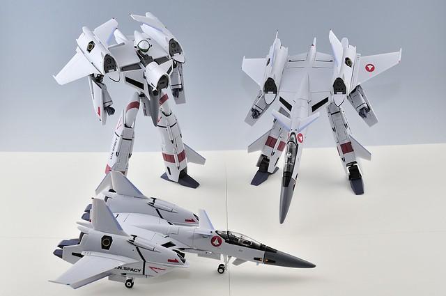 やまと 完全変形 VF-4G 三形態