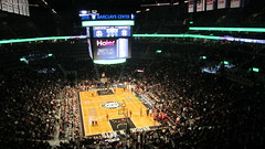 Minnesota Timberwolves at Brooklyn Nets, Barclays Center, Brooklyn
