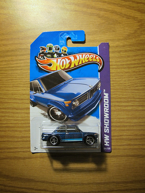 Hot Wheels Blue BMW 2002