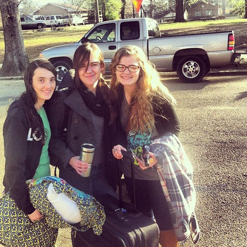 And they're off! #passion2012 #roadtrip #friends #jesuslove #smiles #missionaries