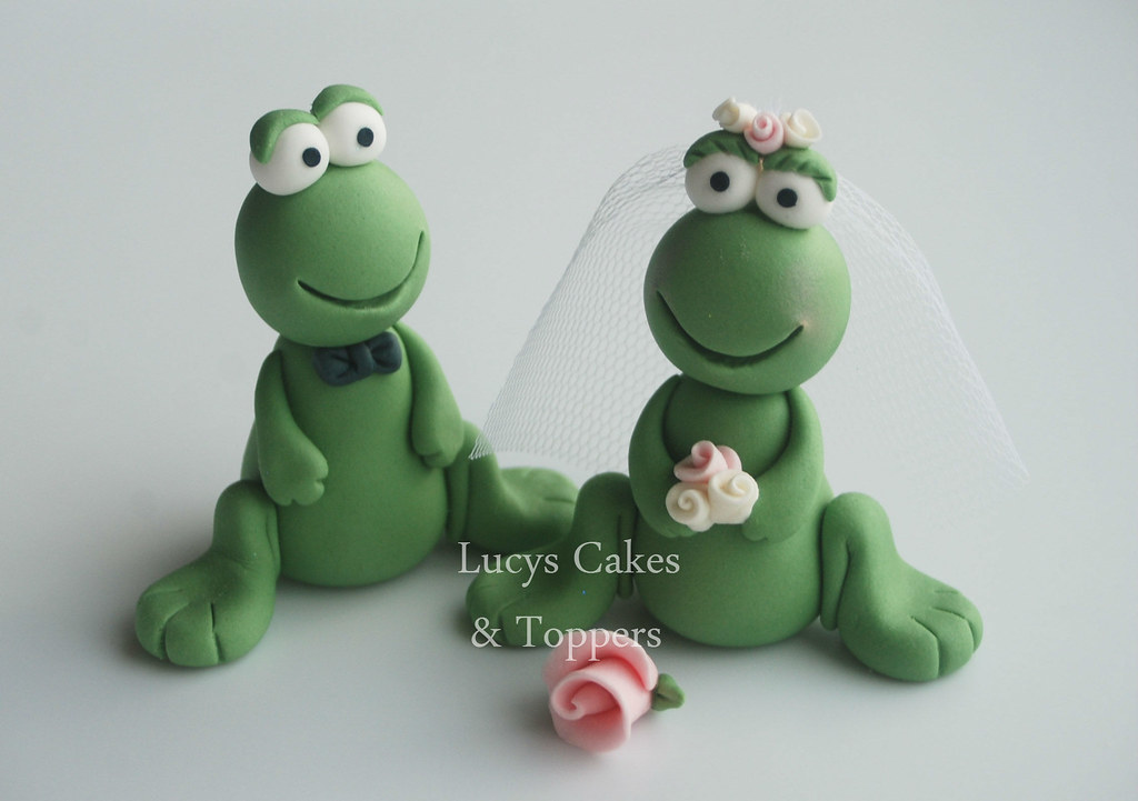 Frog Cake Toppers Uk