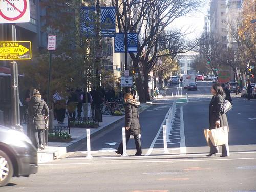 L Street cycletrack
