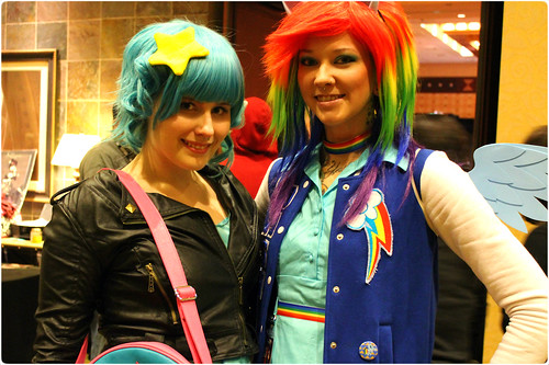 Ramona and Rainbow Dash