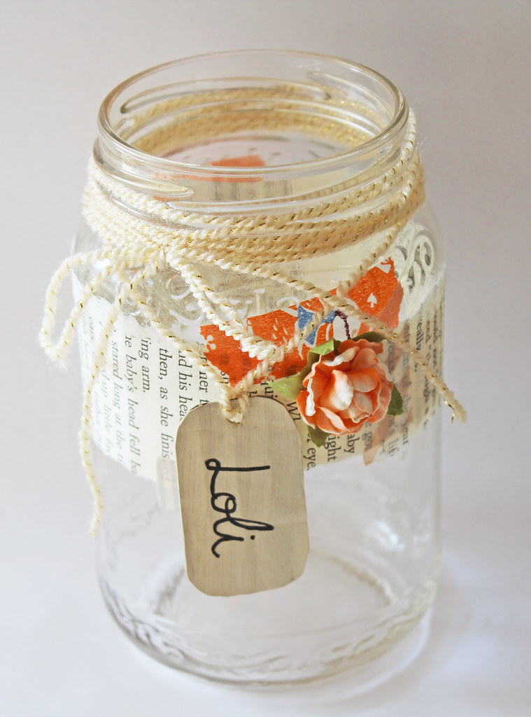 New Years Jar for Loli