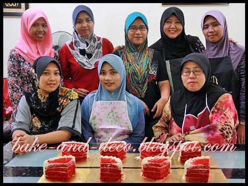 Baking Class: Red Velvet Cake ~ 10 June 2012