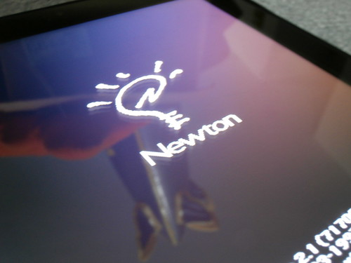 Einstein Newton Emulator on the HP Touchpad