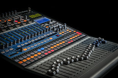 mixing console,