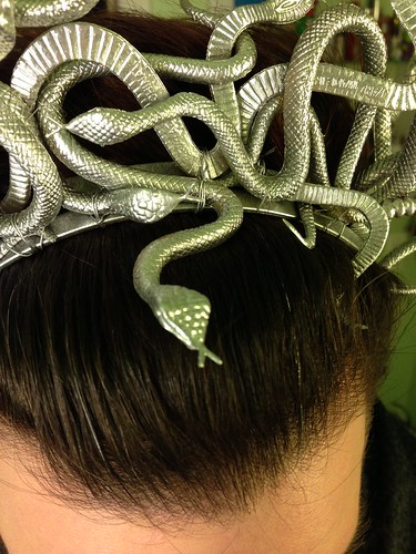 NYE 2012/2013 Snake Headdress by shefightslikeagirl