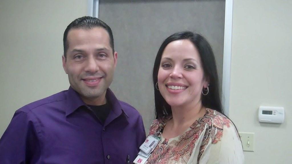 Juan Salazar and Melissa Allred