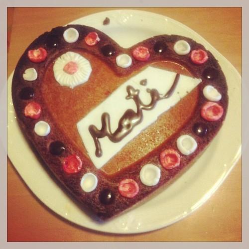 Mati's first cake design:))) Prima opera di Mati di cake design:)))
