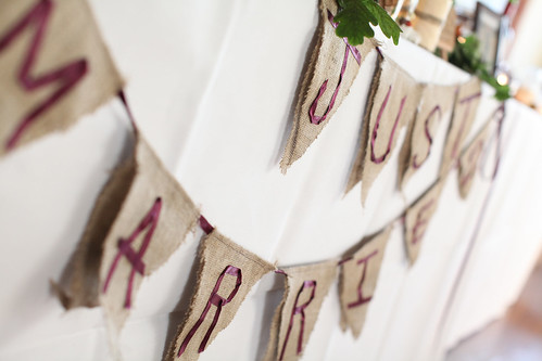 Moody Marriage - Homemade Bunting